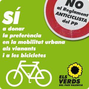 No al Reglamente Anticiclista del PP