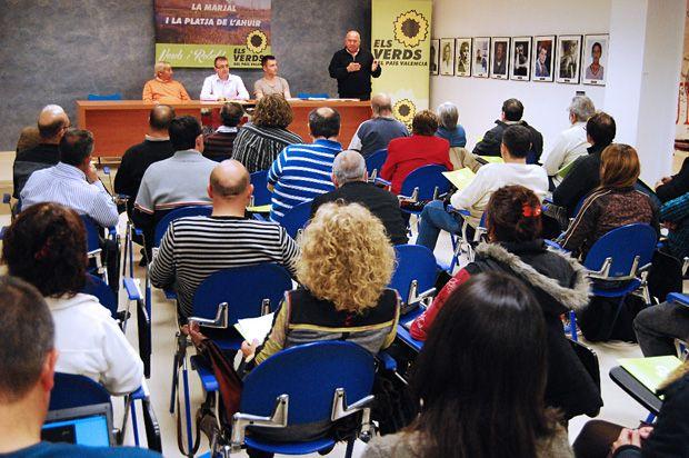 Assemblea d'Els Verds de Gandia, 3 de maig de 2013