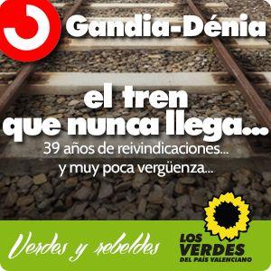 Cercanías Gandia-Dénia: el tren que nunca llega