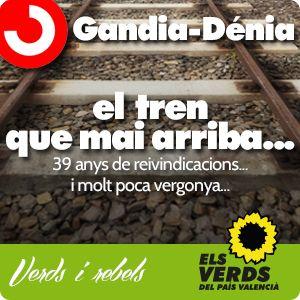 Rodalies Gandia-Dénia: el tren que mai arriba
