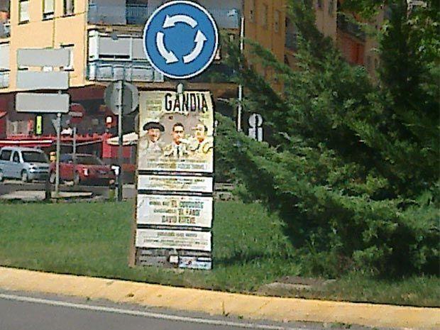 20130707 Los Verdes de Gandia denuncian incumplimiento ordenanzas publicidad - corridas de toros