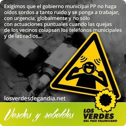Los Verdes apoyan a la Asociación de Vecinos por la Convivencia de la Playa ante el ataque del gobierno del PP y una parte del sector empresarial de Gandia