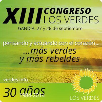 XIII Congreso de Los Verdes