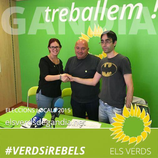 Els Verds presenten el seu Pla per als joves de Gandia i signen el Decàleg del CJG