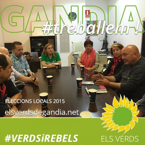 Los Verdes se reúnen con la Asociación de Comerciantes de la Plaza Elíptica, República Argentina y adyacentes