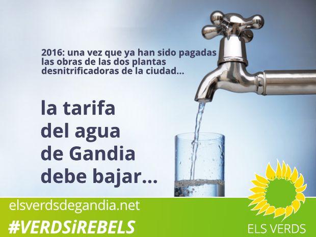 Del canon del agua de Orengo a los actuales lodos del gobierno local