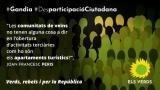 Els Verds demanem participació pública per a l'aprovació d'un Pla d'Ordenació dels Recursos Turístics