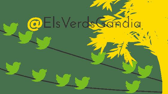 Els Verds de Gandia en Twitter