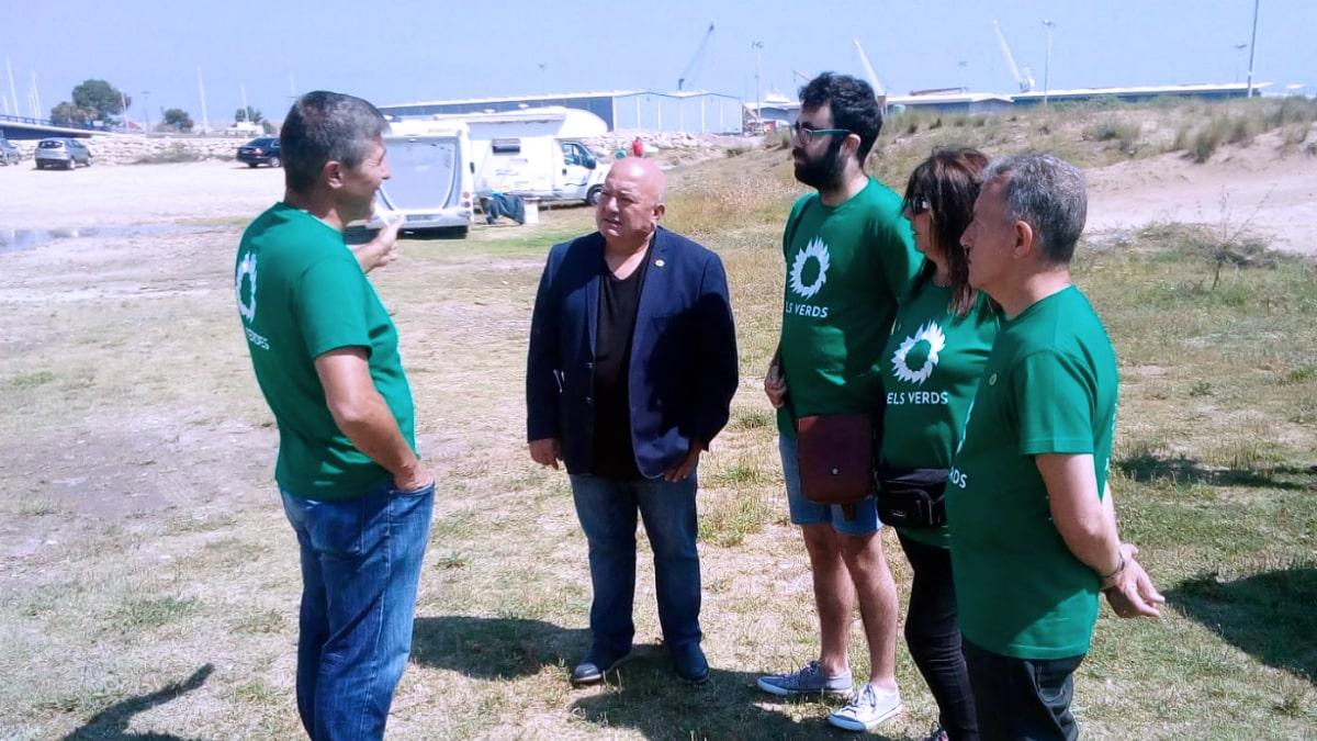 Els Verds impulsaran l'ampliació de la Depuradora d'Aigües Residuals per a millorar la qualitat de l'aigua a la Platja de Venècia i dels Marenys de Rafalcaid