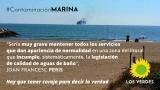 Los Verdes instan al gobierno municipal de Gandia a solucionar los problemas de contaminación que, año tras año, sufren las playas de Venecia y Marenys de Rafalcaid